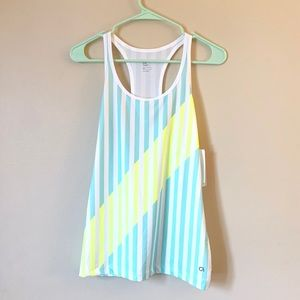 Gap fit work-out tank striped